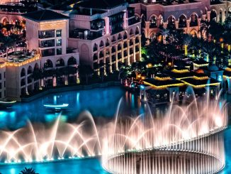 Dancing Waters in Dubai