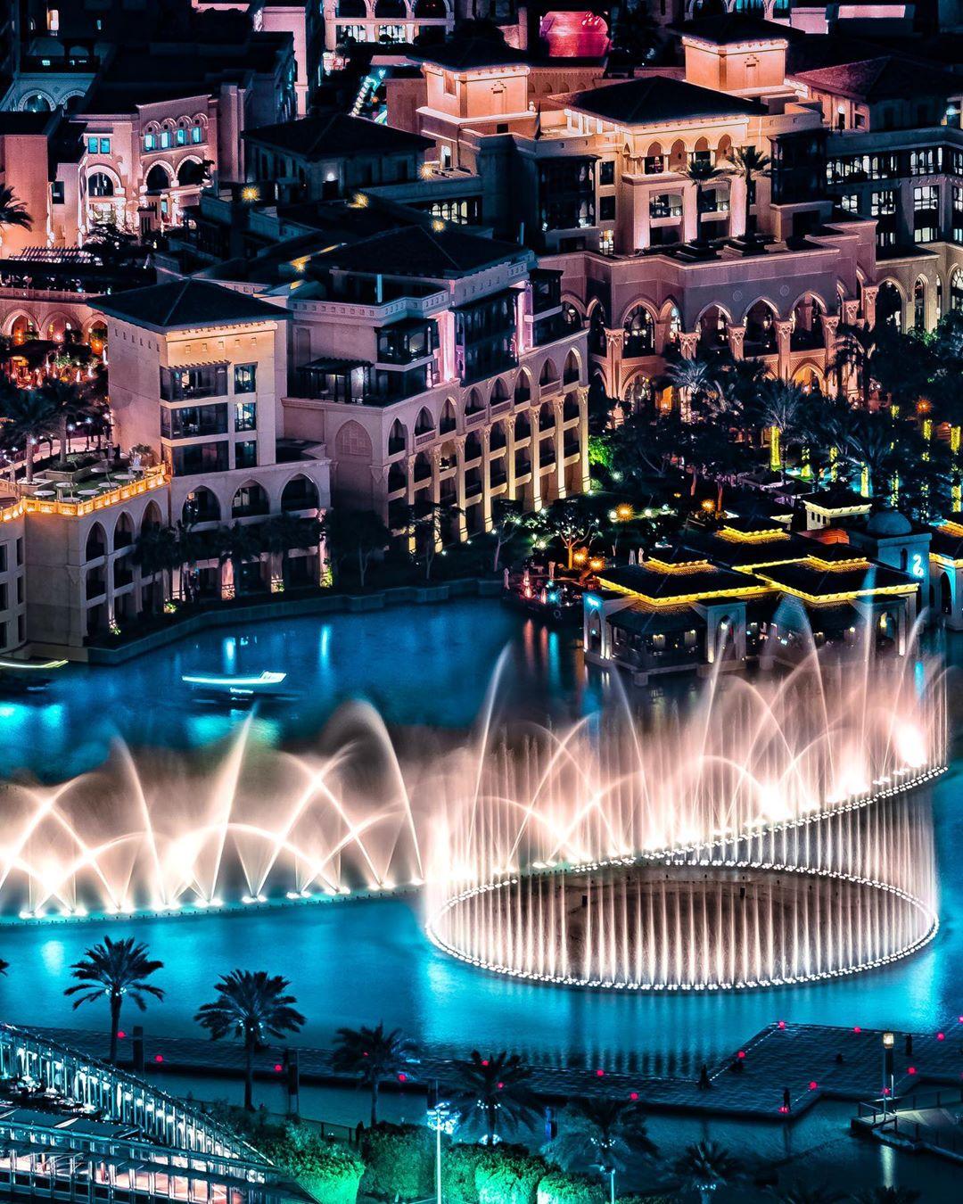 Dancing Waters in Dubai