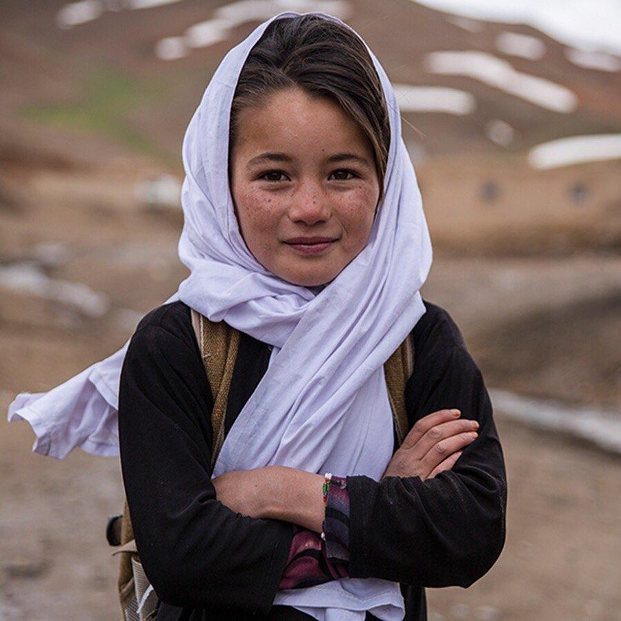 Morsal Afghan Little girl
