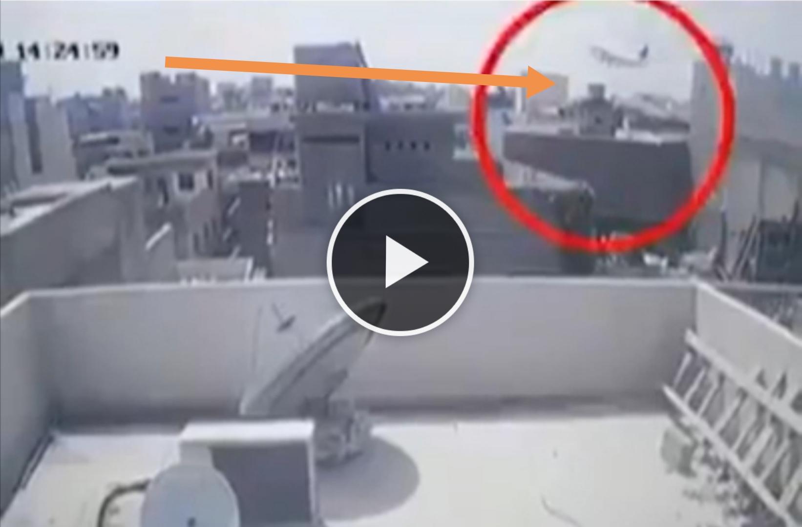 Pakistan airline crashed